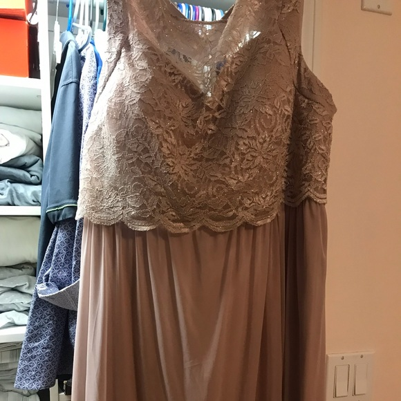 Plus size Bridesmaid/Mother of the Bride Dress